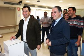 """Moreno prevé un congreso de unidad que tendrá en cuenta a """"las distintas sensibilidades"""" del PP-A"""
