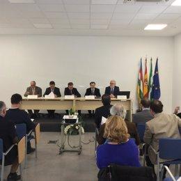 Presentación de los servicios del Puerto de Huelva a empresarios jiennenses.