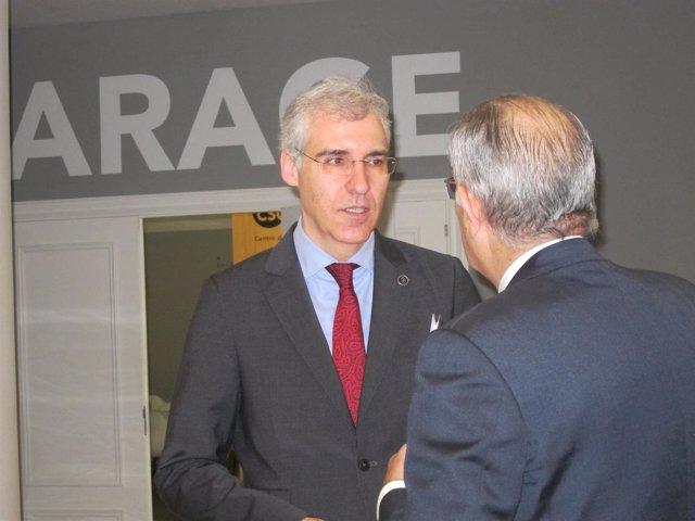 El conselleiro de Economía, Francisco Conde