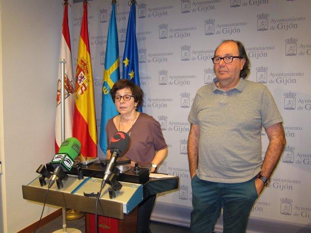 Ana Castaño y Mario Suárez.