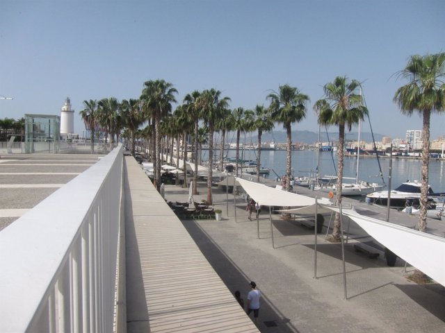Muelle Uno, Málaga, puerto