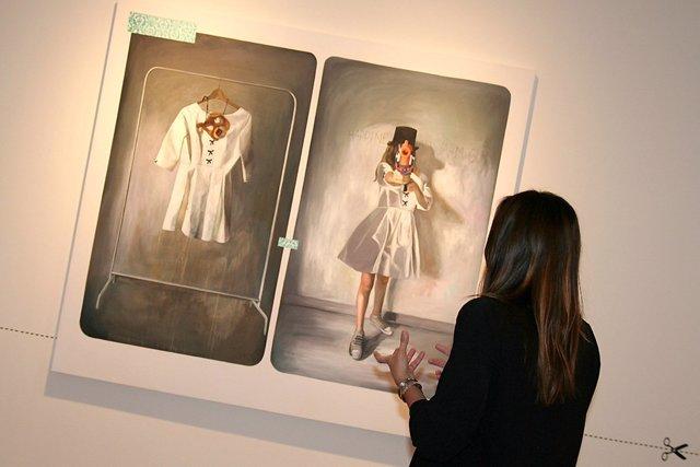 Fundación unicaja y paula vincenti identidad femenina con exposición