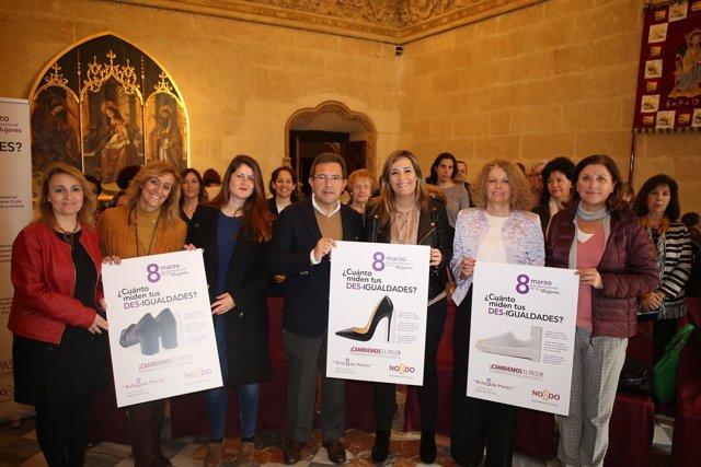 Presentación de la campaña por el Día de la Mujer