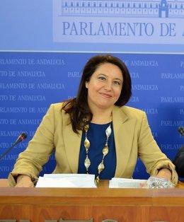 La portavoz del PP-A, Carmen Crespo