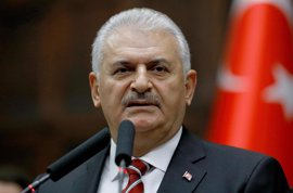 Yildirim lamenta que sus aliados elijan a las YPG como apoyo para luchar contra Estado Islámico