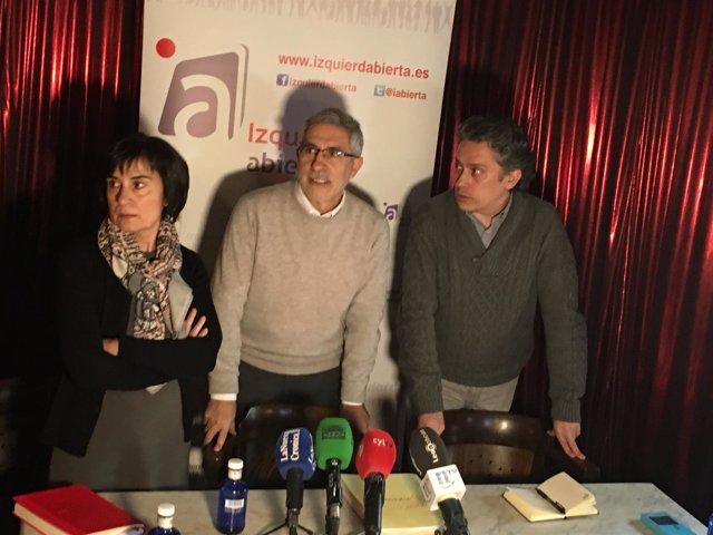 Gaspar Llamazares en León