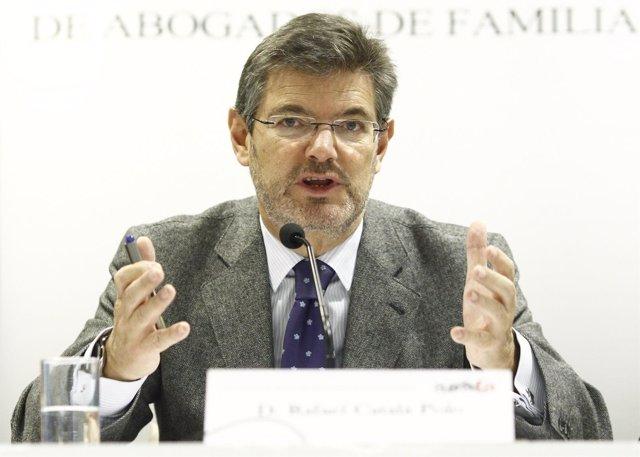 Rafael Catalá inaugura las jornadas de Derecho de Familia