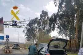 Detenidos dos vecinos de Vilagarcía por tráfico de drogas