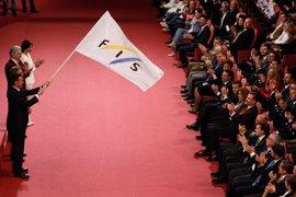 El Rey Felipe VI inaugura los mundiales de Snowboard y Esquí Estilo Libre de Sierra Nevada
