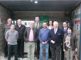 La Cooperativa Corchera de Berrocal inaugura su nueva gasolinera con el impulso de Caja Rural del Sur