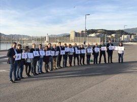 Ciudadanos activa una campaña en redes de apoyo al hotel del puerto y al proyecto comercial del muelle 4