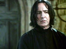Así debía ser Severus Snape en las películas de Harry Potter