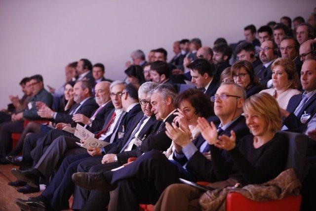 Asistentes al congreso de AECOC de Productos Cárnicos Elaborados