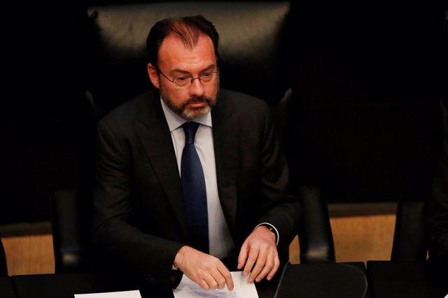 Luis Videgaray, ministro de Exteriores de México