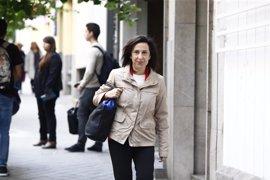 Margarita Robles critica ante el PSOE el pacto con el PP para el TC: Así entraste en el CGPJ, le replican