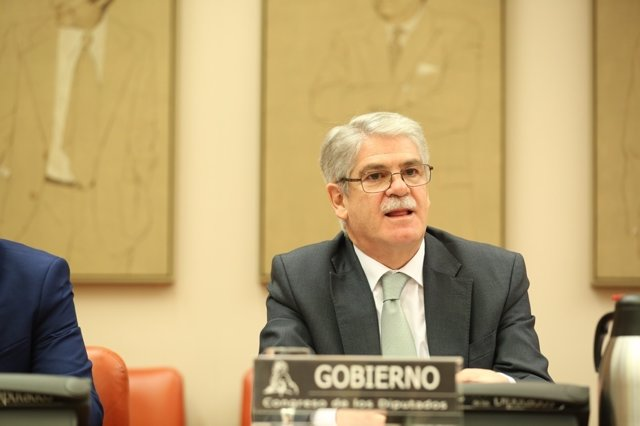 El ministro de Exteriores, Alfonso Dastis