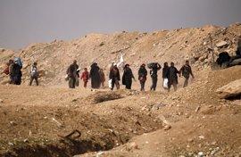 ACNUR abre un nuevo campamento de desplazados en los alrededores de Mosul (Irak)