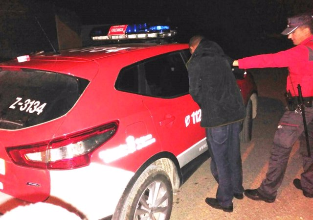 Detención a una persona en Tafalla por una requisitoria judicial