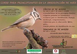 El Centro de Educación Ambiental de Cuacos de Yuste oferta un curso sobre observación de aves