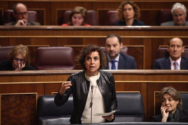 Dolors Montserrat en el Congreso