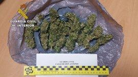 Un detenido en Aldea del Cano (Cáceres) al ser sorprendido con 54 gramos de marihuana