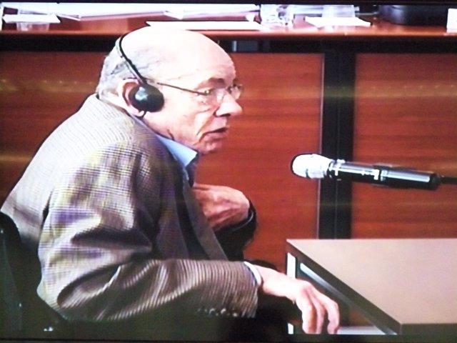 Fèlix Millet, expresidente del Palau de la Música, declara en juicio