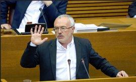 """Las Corts suspenden la votación de los miembros del CJC con el apoyo de PSPV y Compromís y Podemos lo ve """"desleal"""""""