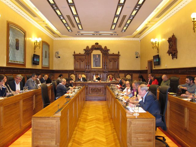 Pleno Ayuntamiento de Gijón.