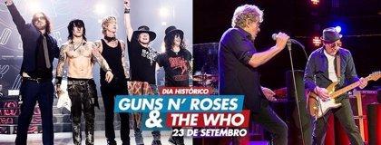 Guns n' Roses y The Who, en una jornada histórica para Rock in Rio 2017