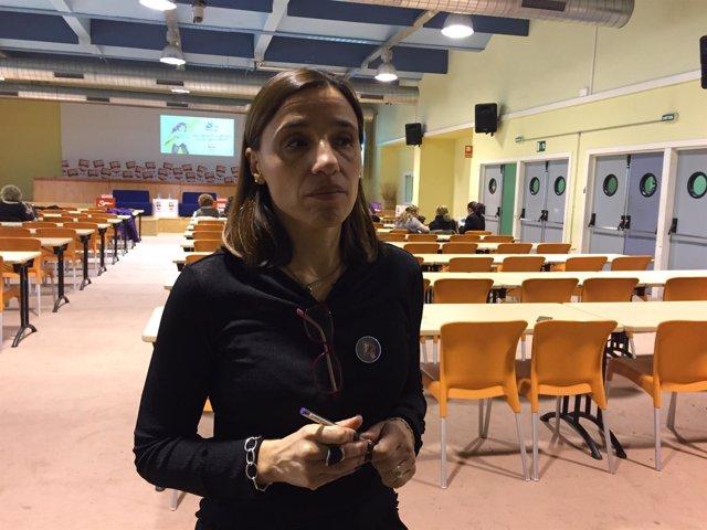 Eva Gajardo, secretaria de Igualdada de UGT de Catalunya