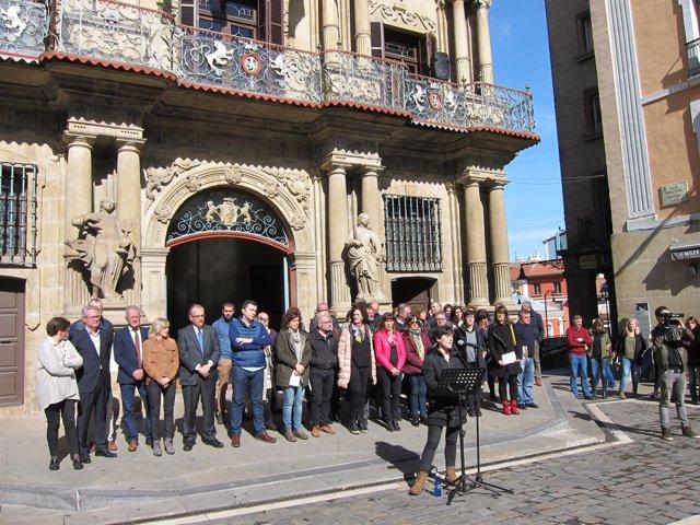 Conmemoración del Día de la Mujer en Pamplona