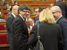 """Puigdemont desvincula a su Govern: """"No tenemos ningún caso de corrupción"""""""