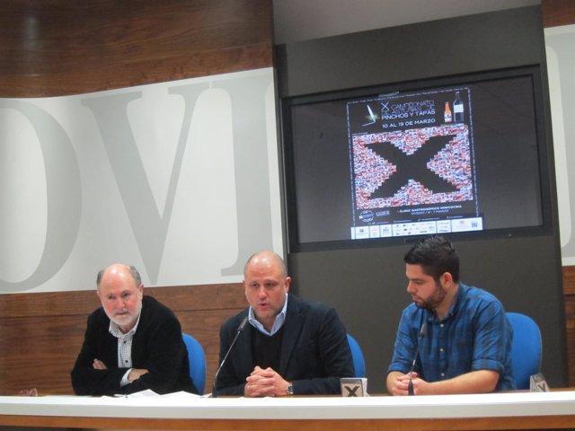 Presentación del X Campeonato de Asturias de Pinchos y Tapas.