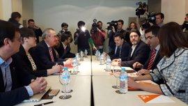 El encuentro entre PSOE y Cs concluye con un ultimátum a Pedro Antonio Sánchez