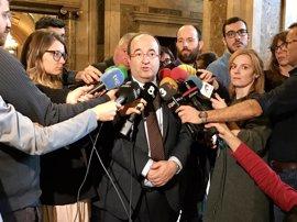 Iceta (PSC) recuerda el aviso de Maragall sobre el 3% y pide a Mas responsabilidades políticas
