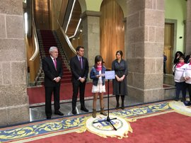 Parlamento de Galicia y Plan Internacional unen fuerzas en favor de la igualdad de la mujer