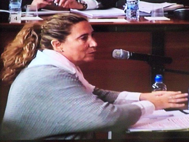 La exdtora.Financiera del Palau de la Música Gemma Montull declara en juicio