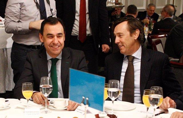 Fernando Martínez Maillo y Rafael Hernando