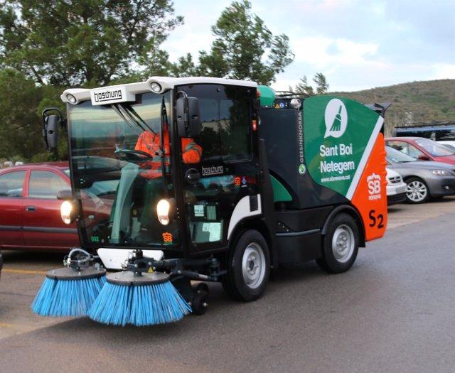 El Ayuntamiento de Sant Boi de Llobregat ha adquirido nueva maquinaria