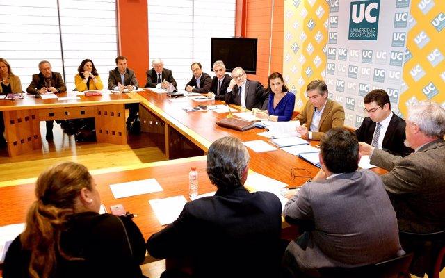 Reunión de la Comisión Mixta Ayuntamiento-UC