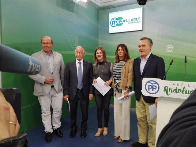 Presentación de la ponencia social del PP-A