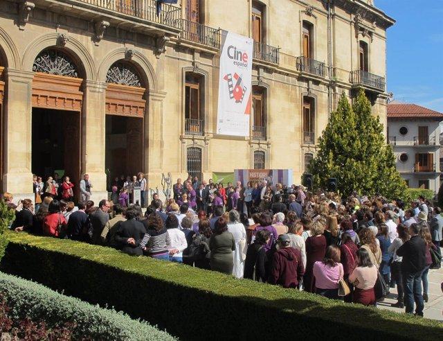 Acto de la Diputación por el Día de la Mujer