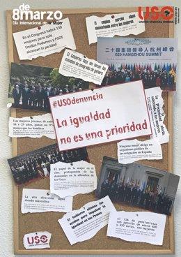 Cartel de USO