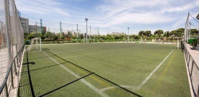 Campo de fútbol y golf en Chamberí