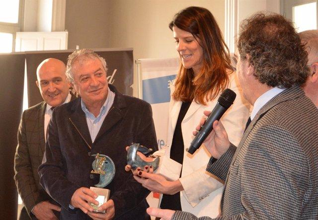 Ruth Beitia y Ramón Torralbo reciben los premios de la AEPD