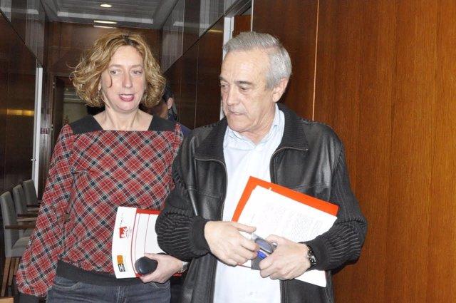 Patricia Luquin y Javier Sada