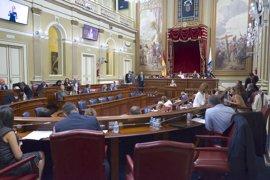 """El Parlamento, con la abstención de CC-PNC, aprueba un plan contra el """"deterioro"""" de la sanidad"""