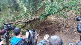 La Guardia Civil localiza en Irún (Guipúzcoa) un zulo viejo de ETA con siete bidones con material explosivo