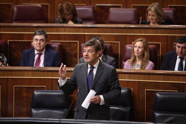Rafael Catalá en el Congreso