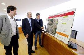 Obras Públicas invertirá 241.000 euros en la reordenación peatonal y mejora de la glorieta de Mompía